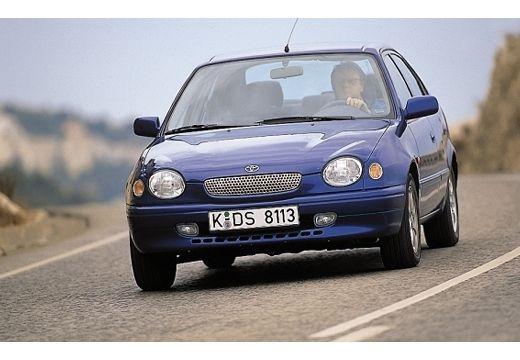 Toyota Corolla IV hatchback niebieski jasny przedni lewy