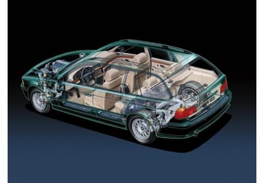 BMW Seria 5 kombi prześwietlenie