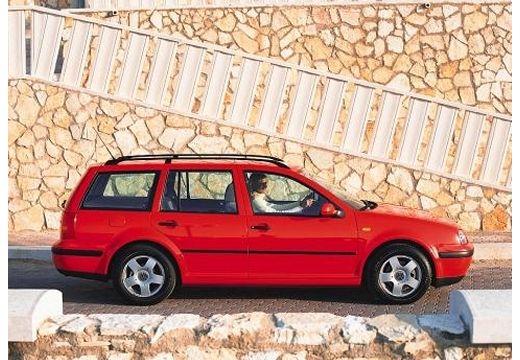 VOLKSWAGEN Golf IV Variant kombi czerwony jasny boczny prawy