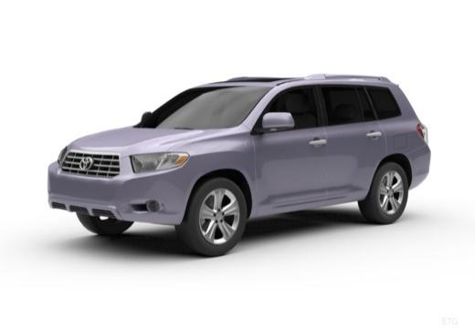 Toyota Highlander kombi przedni lewy