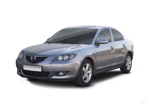 MAZDA 3 I sedan silver grey przedni lewy