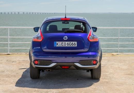 NISSAN Juke II hatchback niebieski jasny tylny