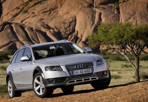 AUDI A4 Allroad I kombi silver grey przedni prawy