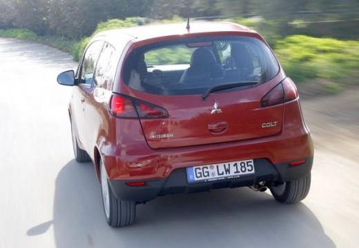 MITSUBISHI Colt hatchback czerwony jasny tylny lewy
