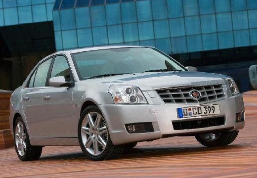 CADILLAC BLS I sedan silver grey przedni prawy