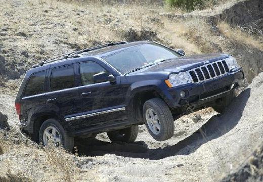 JEEP Grand Cherokee III kombi czarny przedni prawy