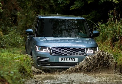 LAND ROVER Range Rover kombi niebieski jasny przedni
