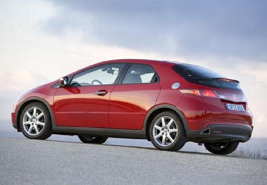 HONDA Civic VI hatchback czerwony jasny tylny lewy