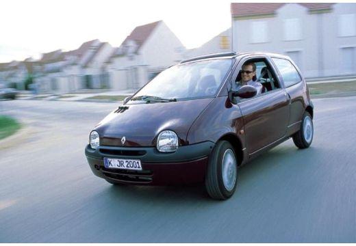RENAULT Twingo II hatchback fioletowy przedni lewy