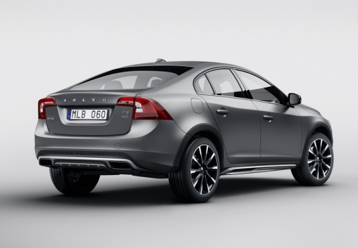 VOLVO S60 sedan silver grey tylny prawy