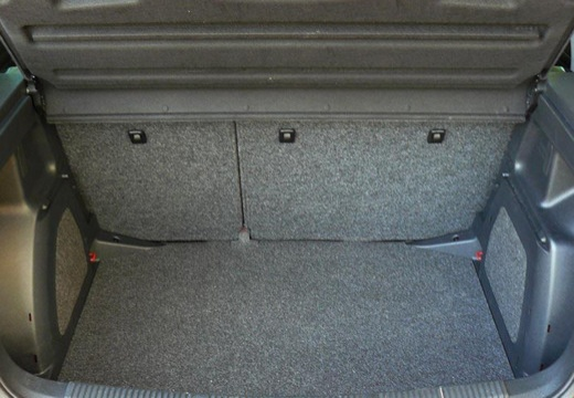 MITSUBISHI Colt VI hatchback biały przestrzeń załadunkowa