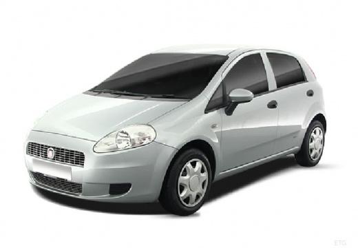 FIAT Punto Grande hatchback silver grey