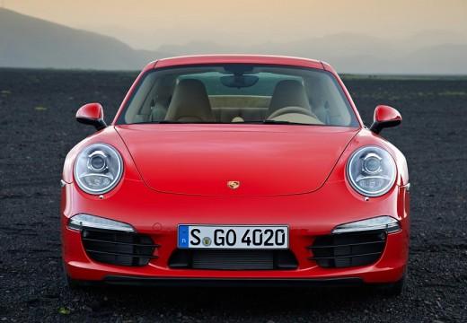 PORSCHE 911 coupe czerwony jasny przedni