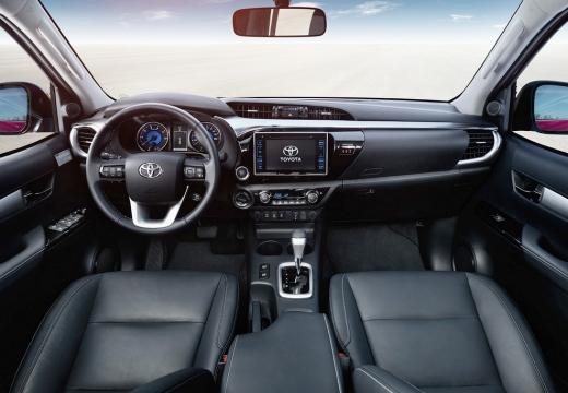 Toyota HiLux pickup tablica rozdzielcza