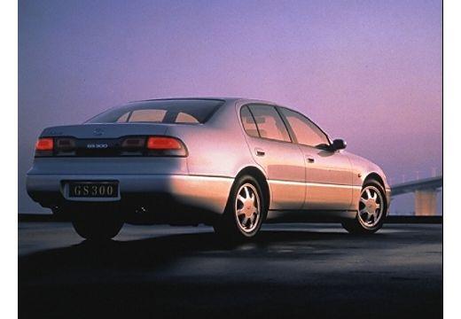 LEXUS GS 300 sedan silver grey tylny prawy