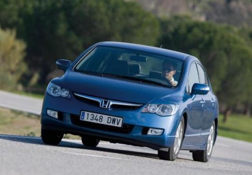HONDA Civic sedan niebieski jasny przedni lewy