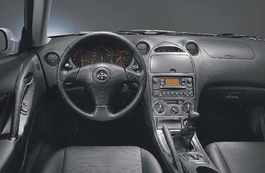 Toyota Celica coupe tablica rozdzielcza