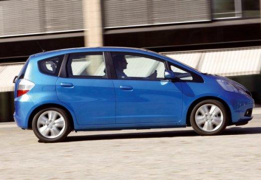 HONDA Jazz II hatchback niebieski jasny boczny prawy