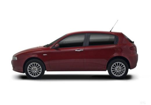 ALFA ROMEO 147 II hatchback boczny lewy