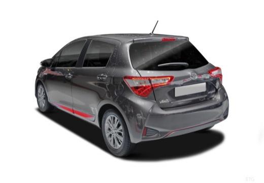 Toyota Yaris hatchback tylny lewy