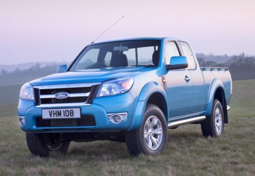 FORD Ranger pickup niebieski jasny przedni lewy