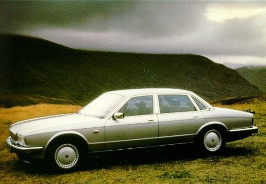 JAGUAR XJ I sedan silver grey przedni lewy