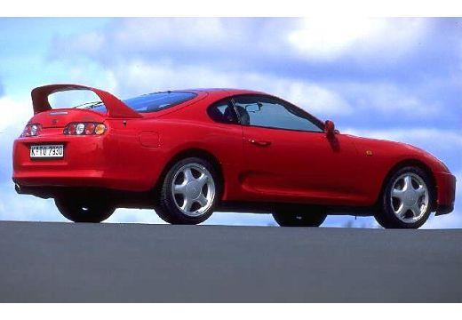Toyota Supra coupe tylny prawy
