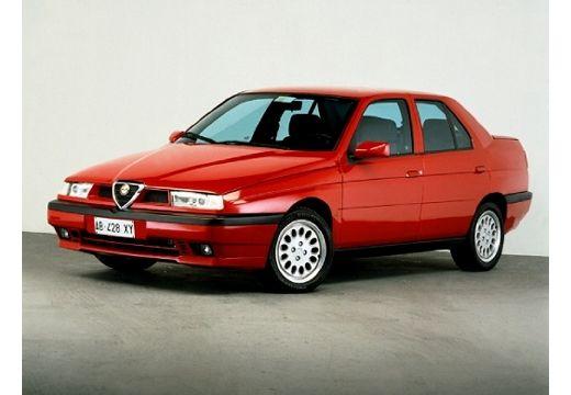 ALFA ROMEO 155 I sedan czerwony jasny przedni lewy