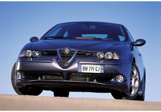 ALFA ROMEO 156 II sedan szary ciemny przedni lewy