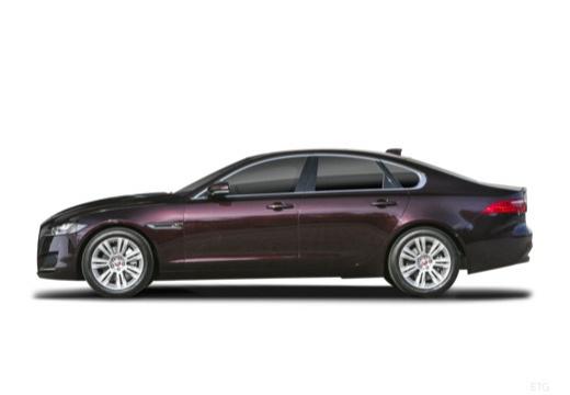 JAGUAR XF sedan boczny lewy