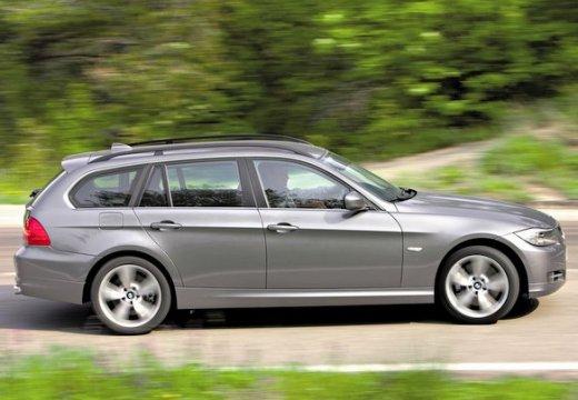 BMW Seria 3 Touring E91 II kombi szary ciemny boczny prawy