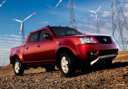 TATA Xenon pickup czerwony jasny przedni prawy