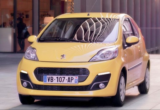PEUGEOT 107 1.0 Active MAP Hatchback III 68KM (benzyna)