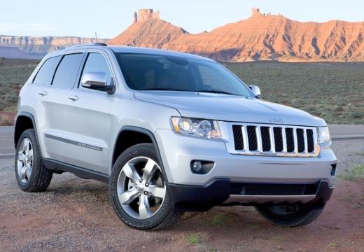 JEEP Grand Cherokee V kombi silver grey przedni prawy