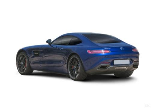 MERCEDES-BENZ Mercedes AMG GT coupe niebieski jasny tylny lewy