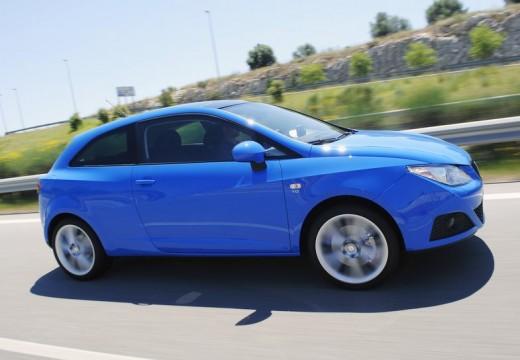 SEAT Ibiza V hatchback niebieski jasny przedni prawy