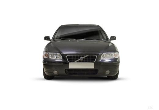VOLVO S60 II sedan czarny przedni