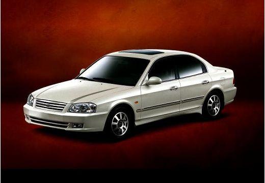 KIA Magentis I sedan biały przedni lewy