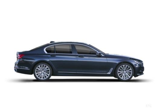 BMW Seria 7 sedan boczny prawy