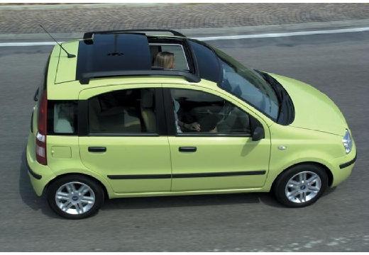 FIAT Panda II hatchback zielony boczny prawy