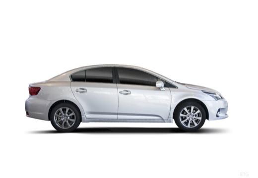 Toyota Avensis VI sedan silver grey boczny prawy