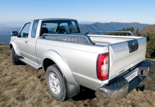 NISSAN Pick Up NP300 pickup silver grey tylny lewy