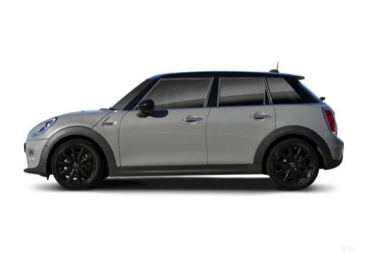 MINI [BMW] Mini MINI Cooper 5dr hatchback boczny lewy