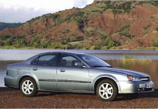 CHEVROLET Evanda sedan silver grey przedni prawy