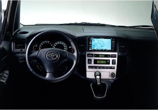 Toyota Corolla Verso I kombi mpv tablica rozdzielcza