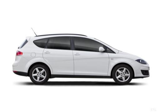 SEAT Altea XL II hatchback boczny prawy