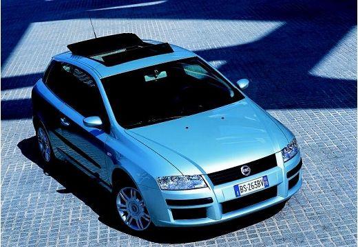 FIAT Stilo II hatchback silver grey przedni prawy