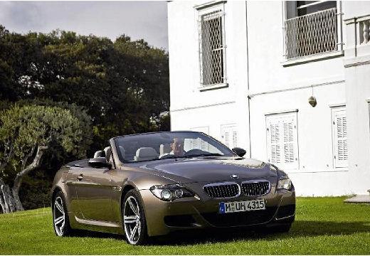 BMW Seria 6 Cabriolet E64 I kabriolet szary ciemny przedni prawy