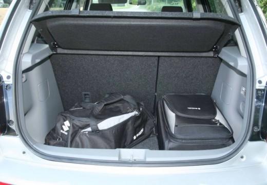 SUZUKI SX4 II hatchback przestrzeń załadunkowa