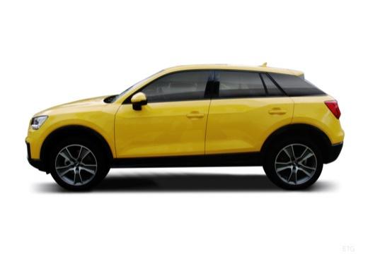 AUDI Q2 hatchback boczny lewy